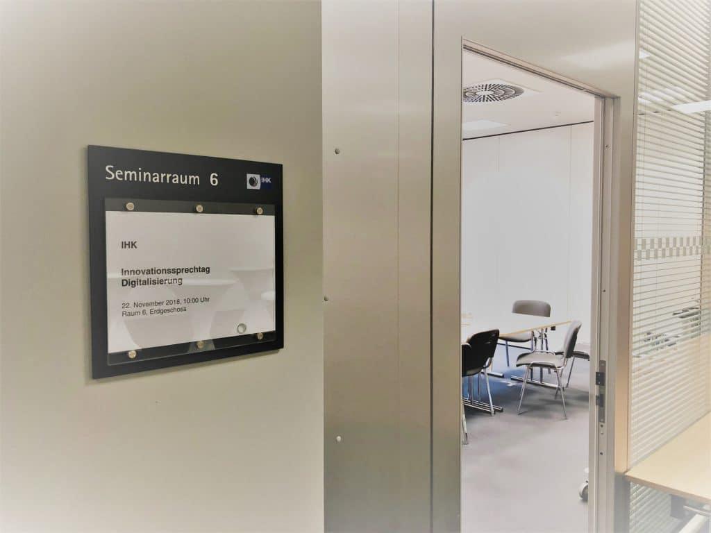 Sprechtag zur Digitalisierung am 22.11.2018 mit der IHK Hessen innovativ