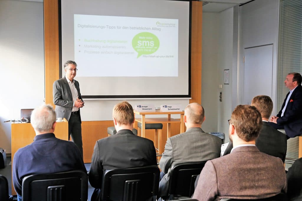 """Live-Vortrag zum Thema """"Digitalisierung"""" mit Ingo Scheidweiler"""