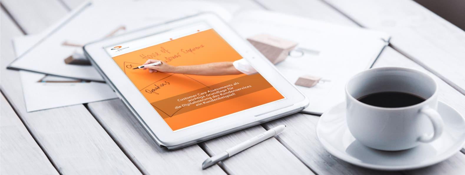 Customer Care Assessments als wichtige Grundlage für die Digitalisierung des Kundenservices! – Download